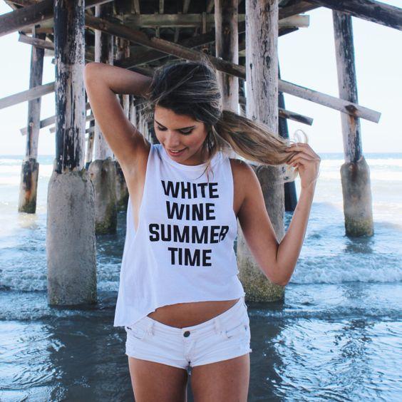 White Wine Summer Time