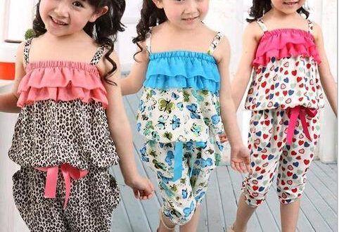 ستايلات ملابس اطفال بنات صيفي 2018 احلى ملابس بنات اطفال صيفي Fashion Women S Top Strapless Top