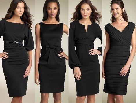 Маленькое черное платье от кока шанель фасоны