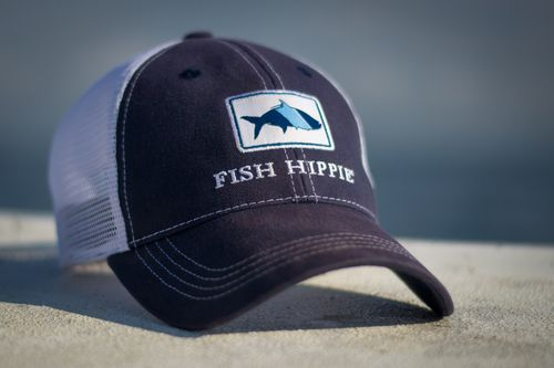 Trucker hats hippie style and love on pinterest for Fish hippie hats