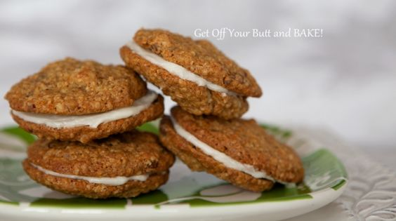 carrot-cake cookie sandwiches - lots of sugar but a homemade dessert that would be fun for Easter.