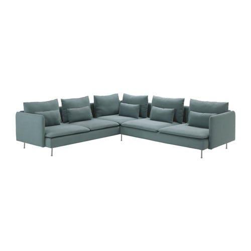 Soderhamn Ecksofa 6 Sitzig Finnsta Turkis Ikea Schweiz Modular Sectional Sofa Modular Corner Sofa Sectional Sofa Couch
