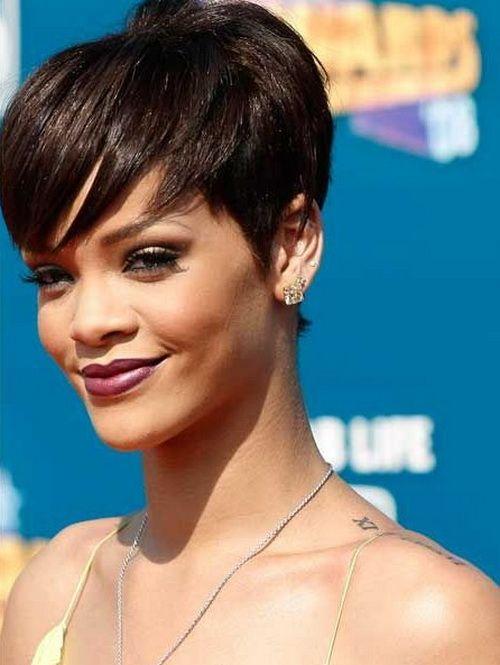 Rihanna Short Pixie Haircuts 2016 Hairstyles Ideas Pinterest