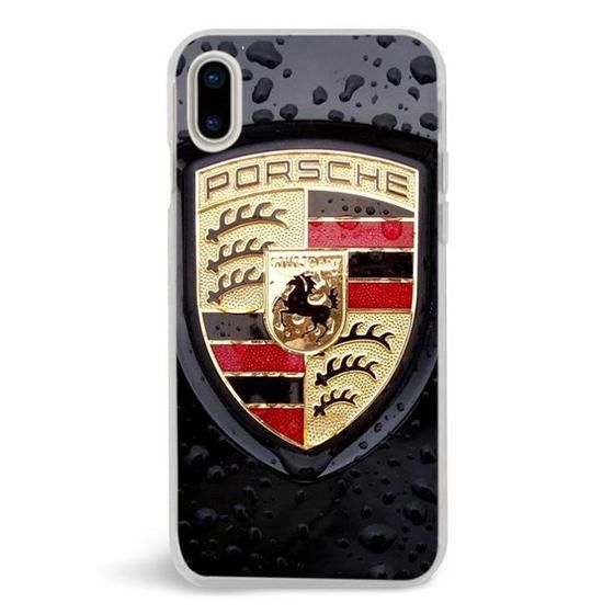 Porsche Black Logo Iphone X Case Custom Iphone X Case Iphone X Iphone Case Iphone Cases