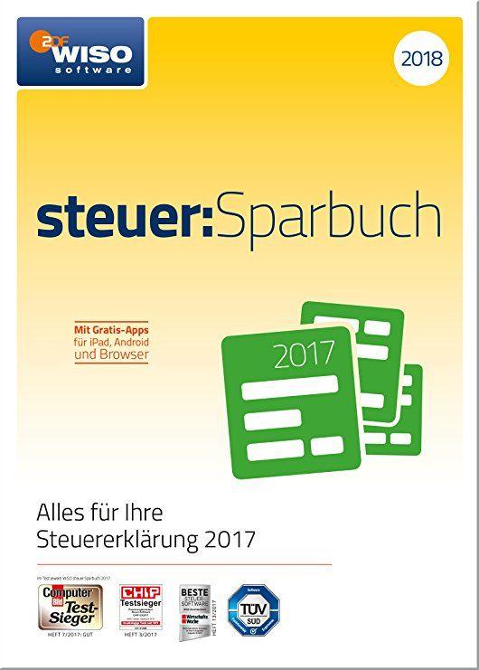 Wiso Steuer Sparbuch 2018 Fur Steuerjahr 2017 Online Code Sparbuch Bucher Sparen