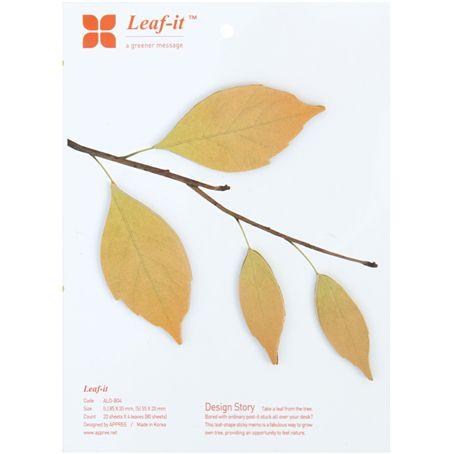 Autumn Leaf-it Sticky Notes