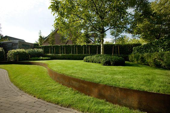 Duo verde tuin en landschapsarchitectuur moderne tuin 1 kontich contemporary pinterest - Moderne landschapsarchitectuur ...