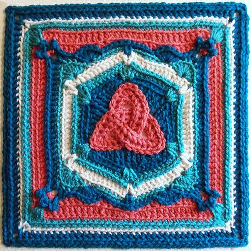 Free Celtic Knot Crochet Afghan Pattern : Pinterest The world s catalog of ideas
