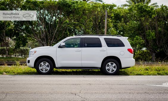 Toyota Sequoia Rental in Aventura, FL — Turo White Cars