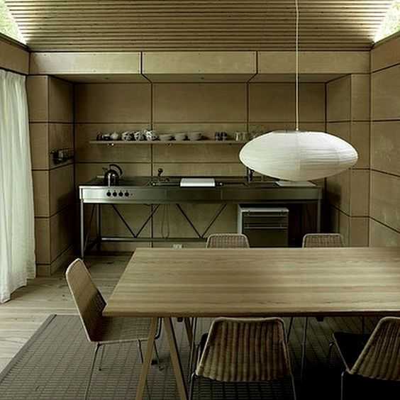 Danish design in Cedar Wood and Zink