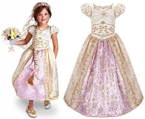 Disney Store Princess Rapunzel Wedding Gown Costume Dress for ...