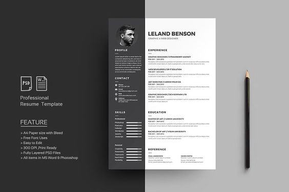 833 best CV Design #Resume #Job #Search images on Pinterest - professional resume fonts