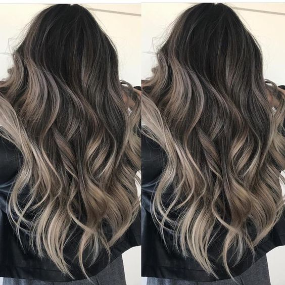 Looking For The Top Spring Hair Colors Long Hair Color Ideas Long Hair Waves Hair Color Trends 2019 Long Hair Color Long Hair Waves Brunette Hair Color