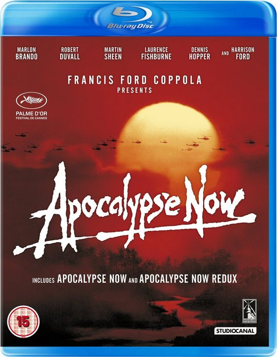 Apocalypse Now ★★★★★ Francis Ford Coppola's haunting, hallucinatory Vietnam War epic is cinema at its most audacious and visionary.A film of pure sensation, dazzling audiences with light and noise, laying bare the stark horror - and unimaginable thrill - of combat.Certainly no movie in history has ever presented stronger proof that war is living hell.(double click to Watch)
