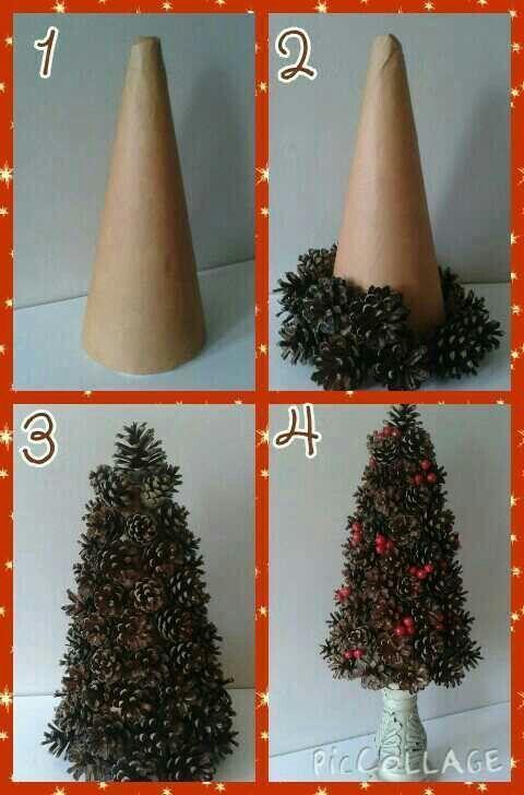 Koupili Si Obycejny Polystyrenovy Kuzel Za Par Korun 33 Kouzelnych Dekoraci Na Nadherne Zimni Deko Christmas Tree Crafts Christmas Crafts Christmas Ornaments
