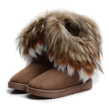 C$ 18.74 - 21.62  Pas cher New Winter Ankle Womens Girls Shoes Boots High Knee Snow Boots Designer Brand Shoes Woman Platform Boots For Women VVXZ1044, Acheter  Femmes de Bottes de qualité directement des fournisseurs de Chine:Description:leuropéenne Taille: 36,37, 38,39, 40(UE)lsélectionnez Couleur: 3Cloro pour Choixl Pls Ne pas oublié d&#3