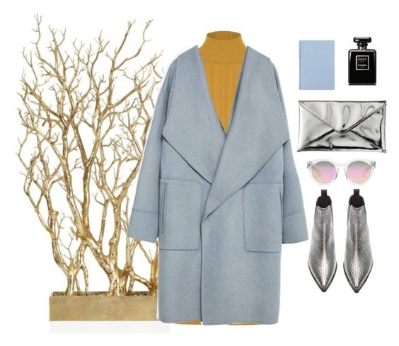 """""""Winter Wonderland"""" by kathyelizabeth on Polyvore featuring WearAll, Zara, Quiksilver, Madewell, Chanel, Acne Studios, women's clothing, women, female and woman"""