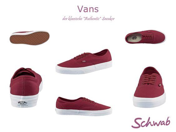 Angesagte Authentic #Vans Sneaker für den Alltag