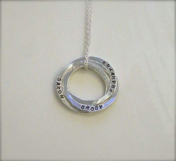 I got one of these for Christmas with my 3 kids names on it...it's beautiful! Would make a great gift!
