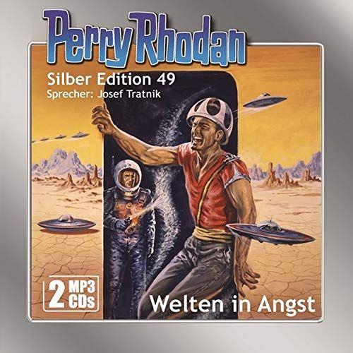Perry Rhodan Silber Edition Mp3 Cds 49 Welten In Angst Silber Edition Perry Rhodan Perry Rhodan Bucher Angst