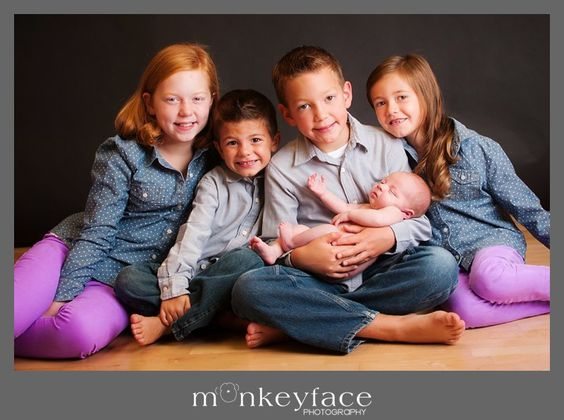 brother and sister newborn and sibling photography las vegas nevada
