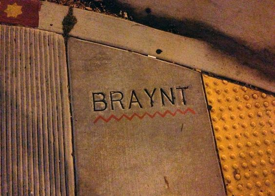 Typos on some silly website are ealisy fixed. Typos in concrete— not so easy. (Alexandra Kenin/UrbanHiker SF)