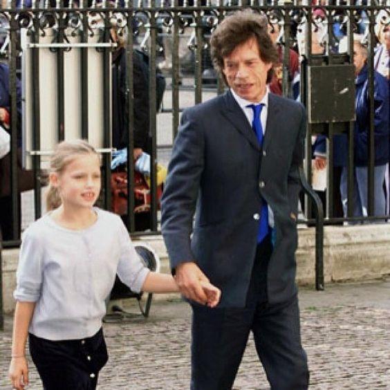 Vogue Daily — Georgia May Jagger and Mick Jagger