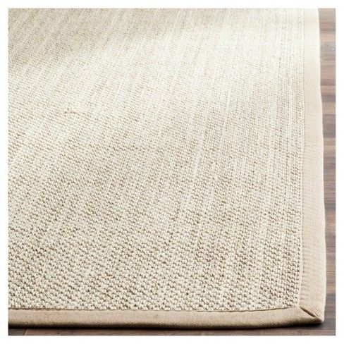 Natural Fiber Rug Marble Linen 10 X10 Round Safavieh Target Natural Fiber Rugs Rugs Space Rugs