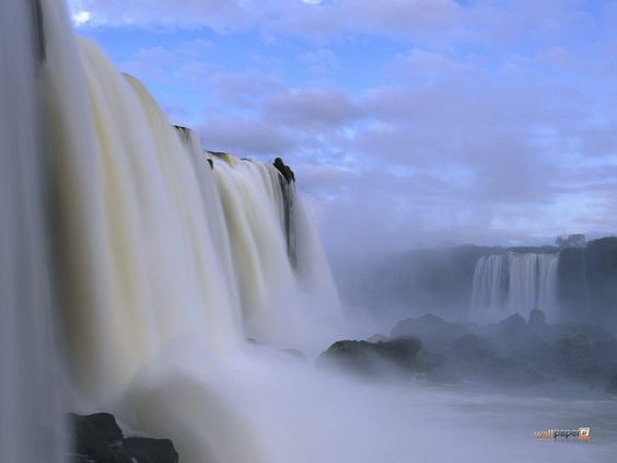 Mauritius Free & Easy provides you a best waterfalls bath after your spa massage..: Iguazu Falls, National Parks, Falls Iguazu, Waterfalls Bath, Iquazu Falls