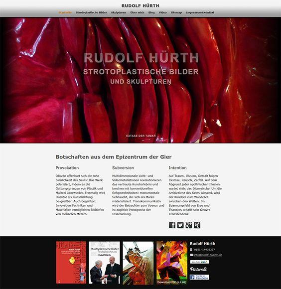 Rudolf Hürth - Strotoplastische Bilder® - Botschaften aus dem Epizentrum der Gier