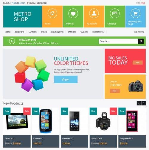 MetroShop Premium Responsive Magento Template