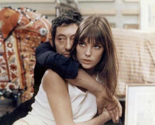 Serge Gainsbourg & Jane Birkin. #the2bandits #banditbabes