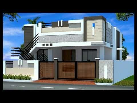 Latest Top Single Floor Home Elevations Small House Plans Floor Plans For Build Small House Front Design Small House Elevation Design One Floor House Plans