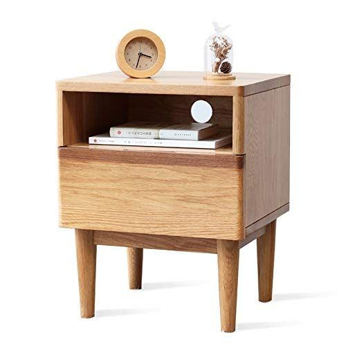 Bedside Table Xiaodong Oak Solid Wood Side Table Corner Table With