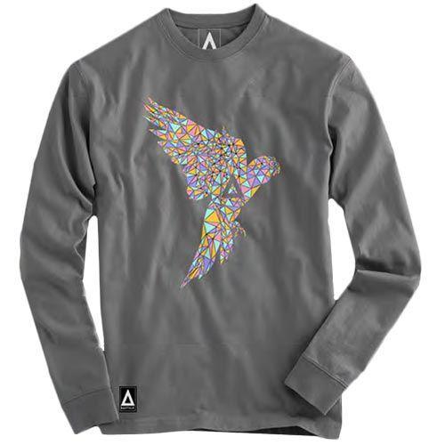 Bastille+-+Bastille+Grey+Parrot+Crew+Neck+Sweatshirt+Extra-Small