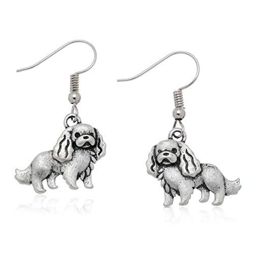 PammyJ Girls and Womens Beagle Dog Drop Earrings
