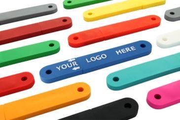 USBfix - der USB-Stick zum Einheften mit Logo