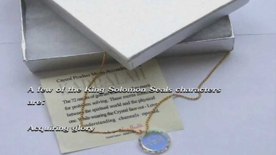 """Seals of Solomon""  ""Jerusalem Jewelry ""  Protection Blessing @ amazon"