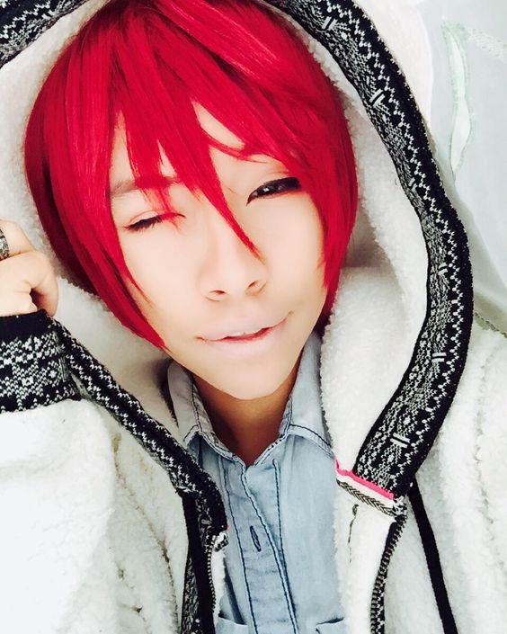Akashi garbage aha #akashiseijuro #anime #cosplay #animecosplay #cute #basketball #basketballanime #kurukonobasket #kurukonobasketcosplay