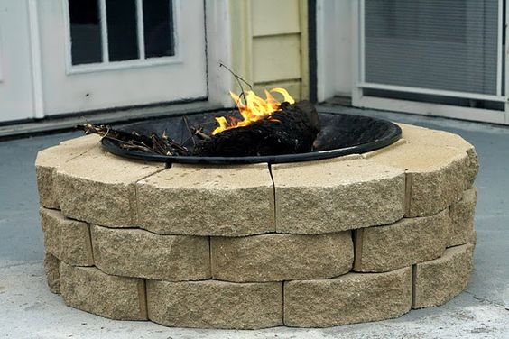 diy firepit for $30 - Maybe ONE day I will have a home that will accomodate this! :)
