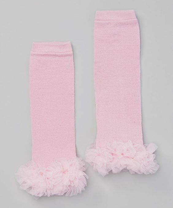 Look at this Pink Ruffle Leg Warmers on #zulily today!