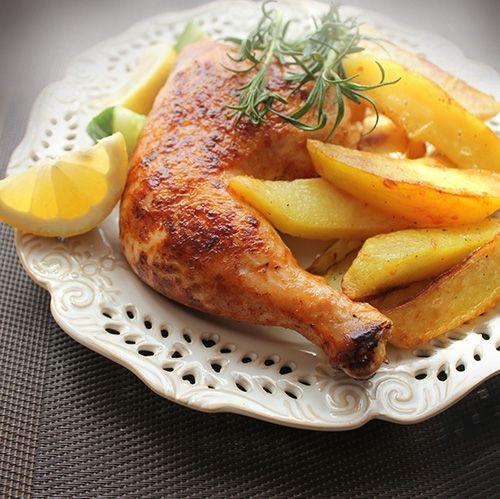 Muslos de Pollo Asados Te enseñamos a cocinar recetas fáciles cómo la receta de Muslos de Pollo Asados y muchas otras recetas de cocina.