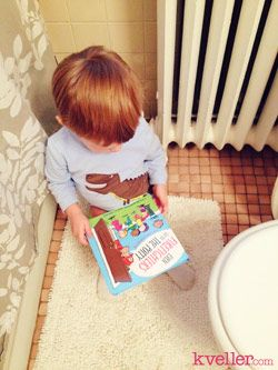 How I Got My Toddler to Poo in the Potty, from Kveller