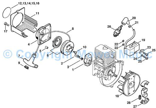 Stihl Fs 55 Rz Parts Diagram Diy Enthusiasts Wiring Diagrams