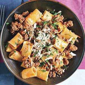 Traditional italian recipes pasta