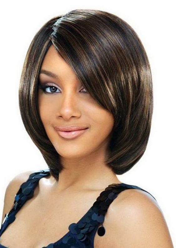 Medium Hairstyles For Black Females - Lusual.com