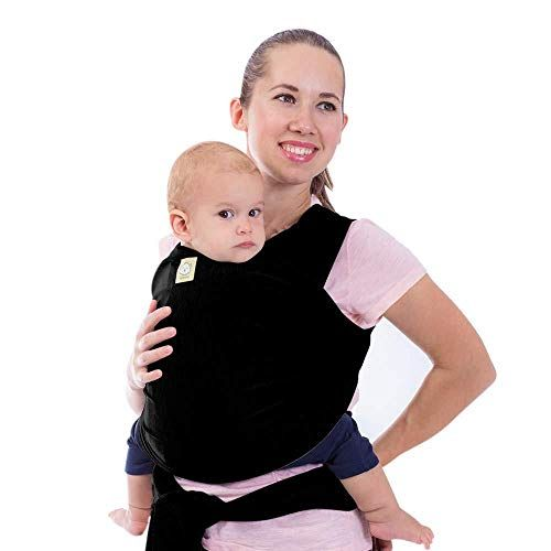 Baby Wrap Ergo Carrier Sling by Sleepy Wrap for Babies from Birth to Toddler