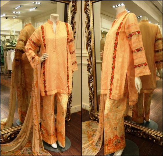 Eid Ul Adha Party Celebration Cloth By Threads & Motifs 2016