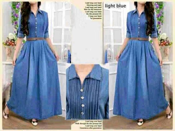 81.000 || Maxi matt denim fit L || CR