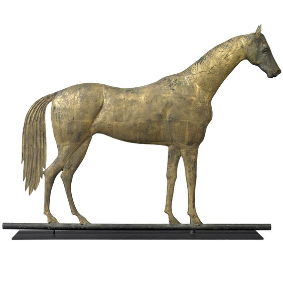 Hambletonian Weathervane. 19th Century:
